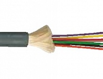 CC-fibre optic minibreakout cable